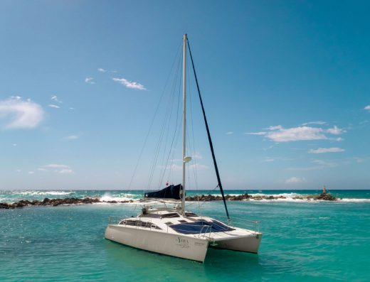 Luxury Private Yacht Charter in Tulum Riviera Maya Mexico